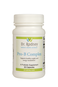 Pro-B Complex,Multispecies probiotic supports healthy weight and energy metabolism.